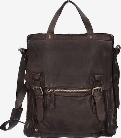 Harold's Handtasche 'Submarine' in dunkelbraun, Produktansicht