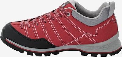 JACK WOLFSKIN Zapatos bajos 'Scrambler Low W ' en gris / rojo / negro, Vista del producto