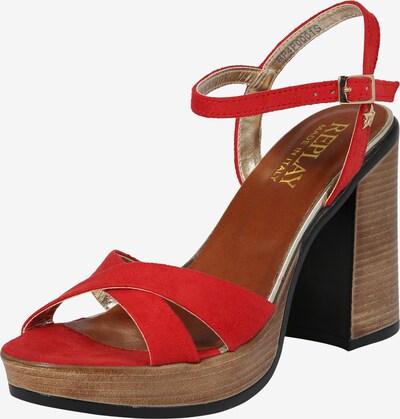 REPLAY Sandalette 'Dessin' in rot, Produktansicht