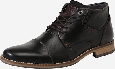 BULLBOXER Chaussure à lacets en noir, Vue avec produit
