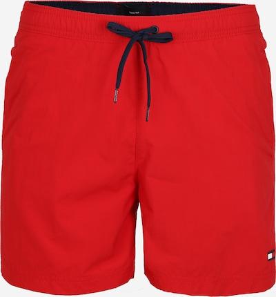 Tommy Hilfiger Underwear Badeshorts 'SF MEDIUM DRAWSTRING' in rot, Produktansicht