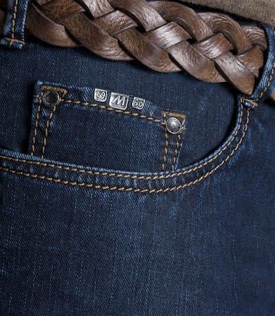 Meyer Hosen Jeans 'Arizona' in dunkelblau, Produktansicht