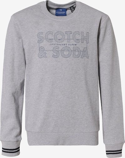 Scotch Shrunk Sweatshirt in navy / grau, Produktansicht