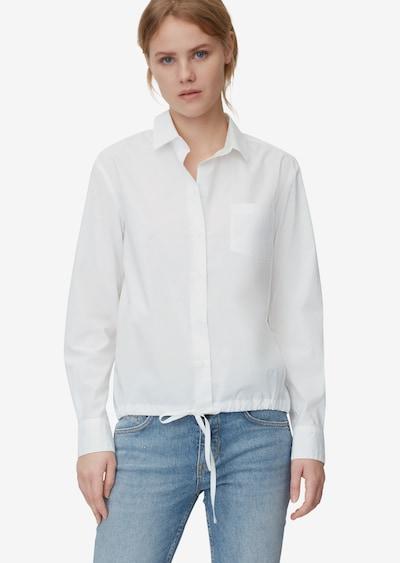 Marc O'Polo Bluse in weiß, Modelansicht