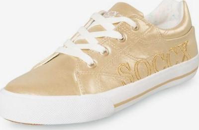 Soccx Sneaker in gold, Produktansicht