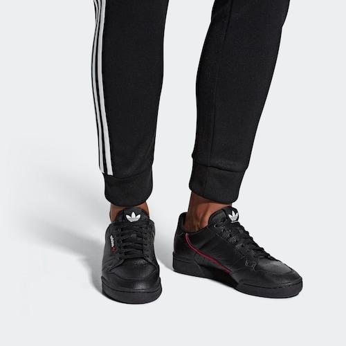 ADIDAS ORIGINALS Nízke tenisky 'Continental 80' - červená / čierna / biela