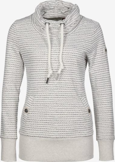 Ragwear Hoodie 'Rylie W' in grau / weiß, Produktansicht
