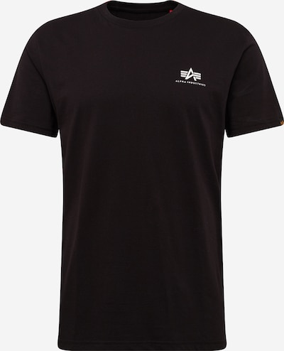ALPHA INDUSTRIES Shirt 'Small Logo' in schwarz, Produktansicht