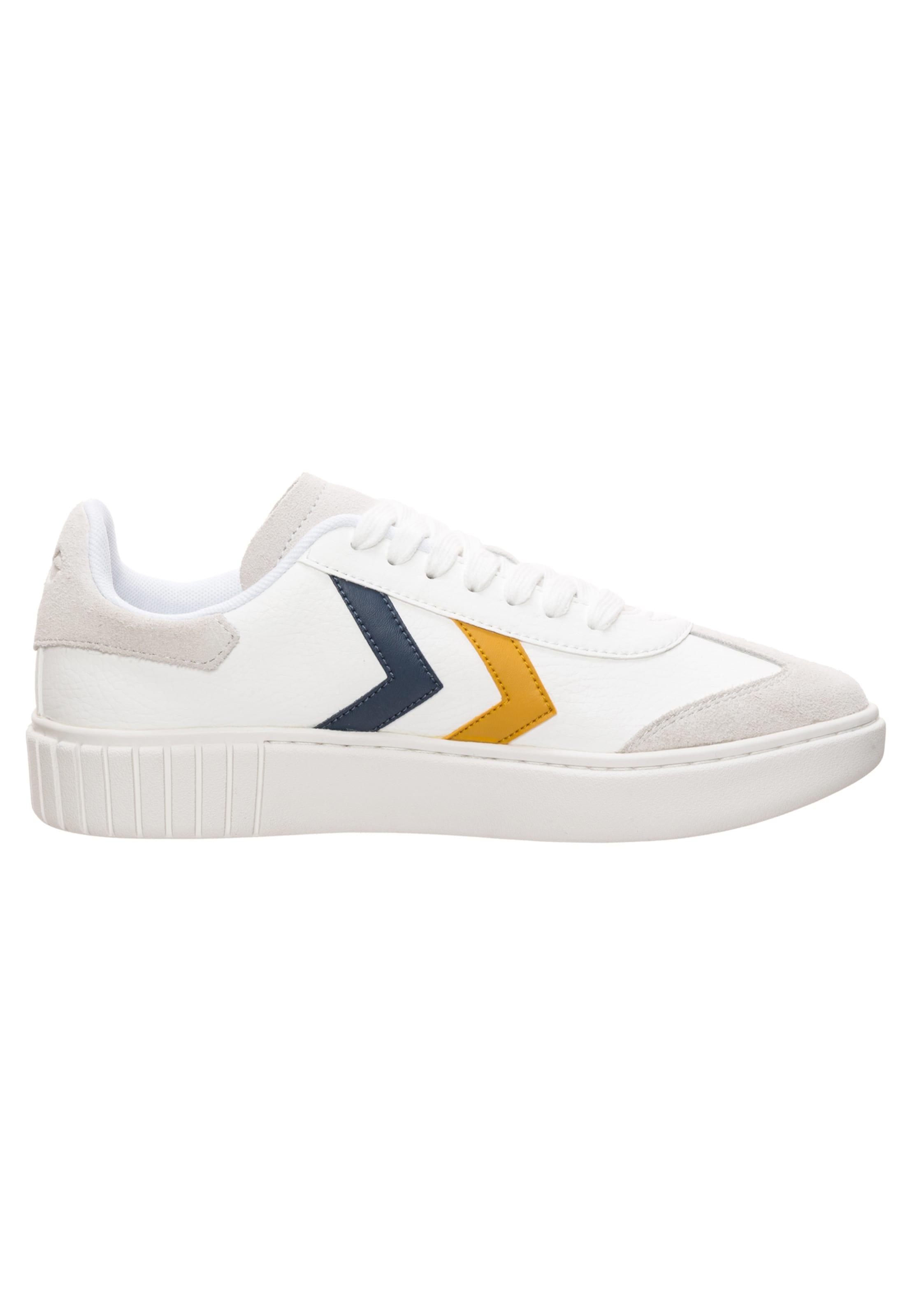 Sneaker NavySenf 'aarhus In Weiß Classic' Hummel QtsrBdChx