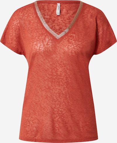 ONLY Koszulka 'ONLRILEY' w kolorze czerwonym: Widok z przodu