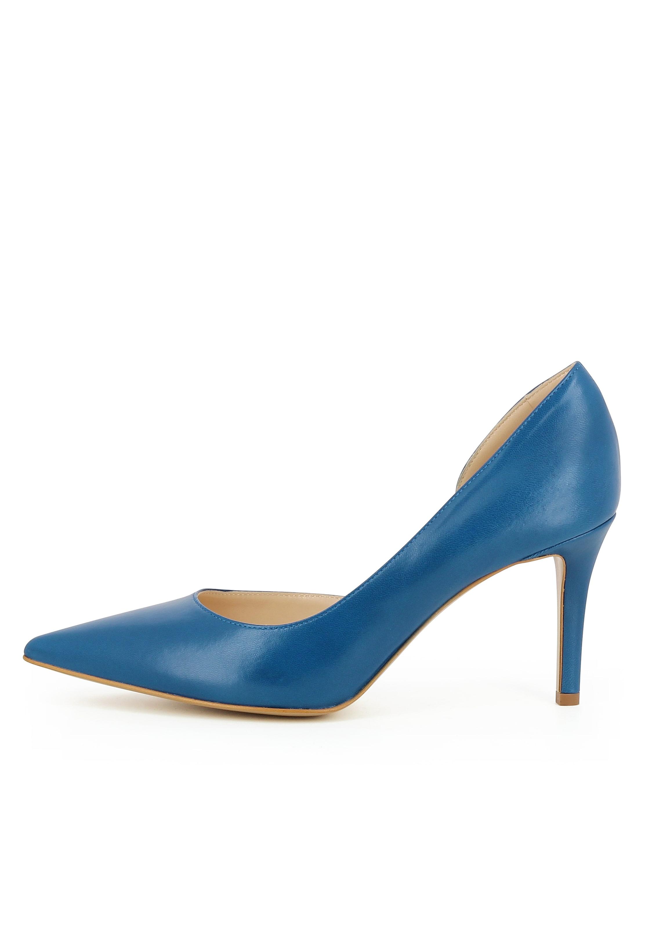 Evita Pumps In Halboffen 'jessica' Blau JF1lKc