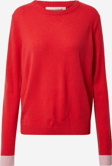 Custommade Sweatshirt 'Adea' in rosa / rot, Produktansicht