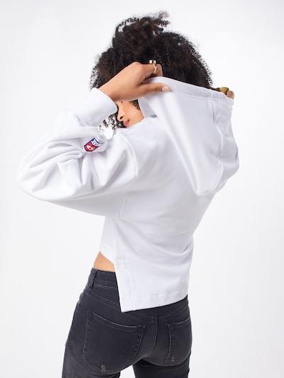 DIESEL Sweatshirt 'F-DINIE-B SWEAT-SHIRT' in de kleur Wit: Achteraanzicht
