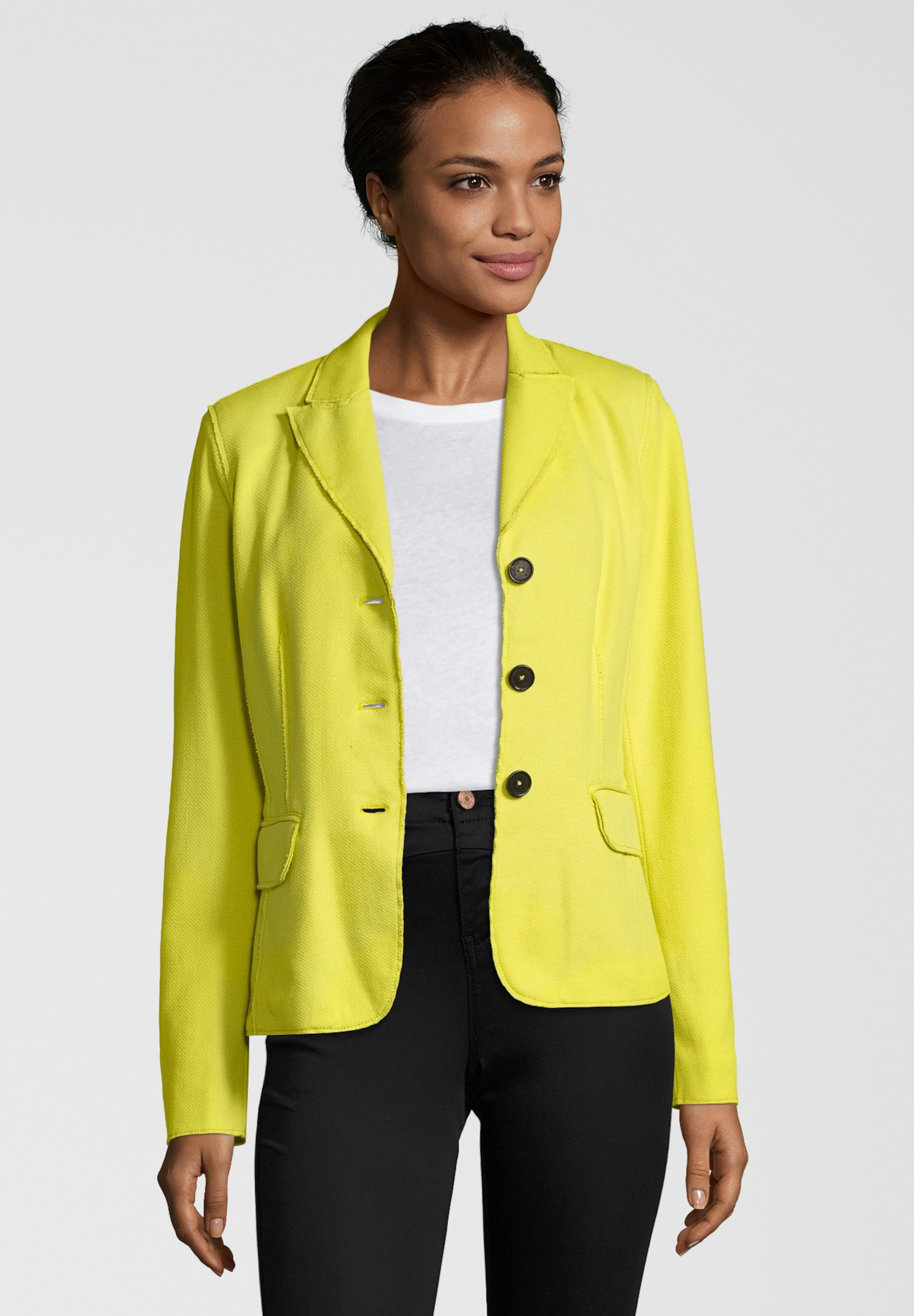 Blonde Blazer 'piana' LimoneWeiß In No8 PX80Onwk