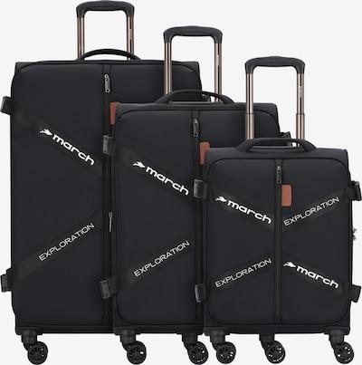March15 Trading Ensemble de bagages en noir / blanc, Vue avec produit