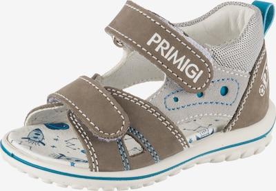 PRIMIGI Sandalen in blau / braun / grau, Produktansicht
