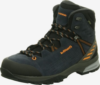 LOWA Outdoorschuhe in navy / orange / schwarz, Produktansicht