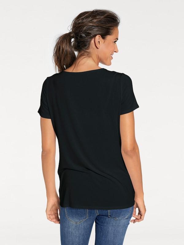 Patrizia Dini by heine V-Shirt mit Applikationen
