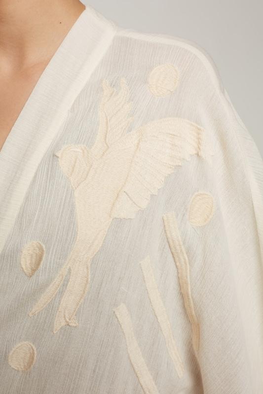 EDITED the label Kimono-Kleid 'Lilian'