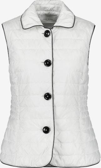 GERRY WEBER Weste mit Kontrastdetails in schwarz / weiß, Produktansicht