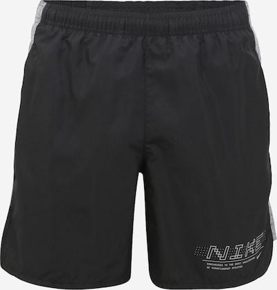 NIKE Sporta bikses pieejami melns / balts, Preces skats