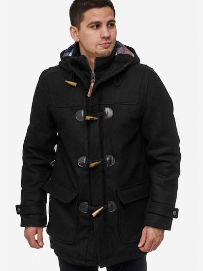 INDICODE JEANS Winterjas 'Ervin Mäntel' in de kleur Zwart, Modelweergave