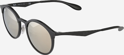 Ray-Ban Casual Sonnenbrille 'Emma' in braun / schwarz: Frontalansicht