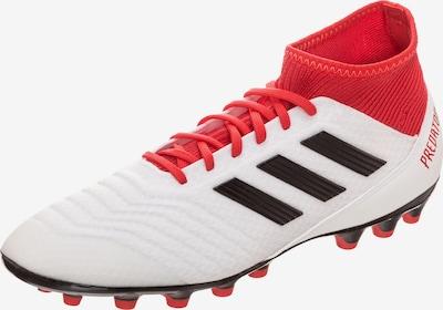 ADIDAS PERFORMANCE Fußballschuh 'Predator 18.3 AG' in rot / schwarz / weiß, Produktansicht