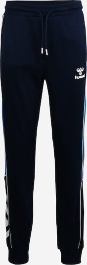 Hummel Hose 'Liam' in aqua / dunkelblau, Produktansicht