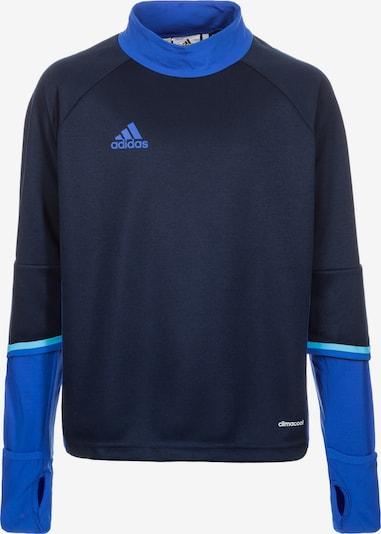 ADIDAS PERFORMANCE Sweat de sport 'Condivo 16' en bleu roi / bleu foncé, Vue avec produit
