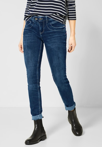 STREET ONE Jeans 'York' in blau, Modelansicht