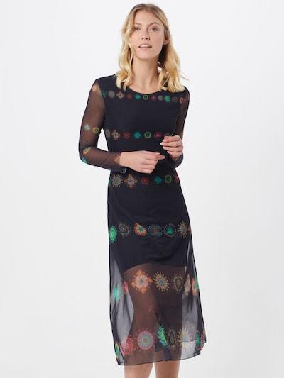 Desigual Kleid  'VEST_KINGSTON' in marine / mischfarben, Modelansicht