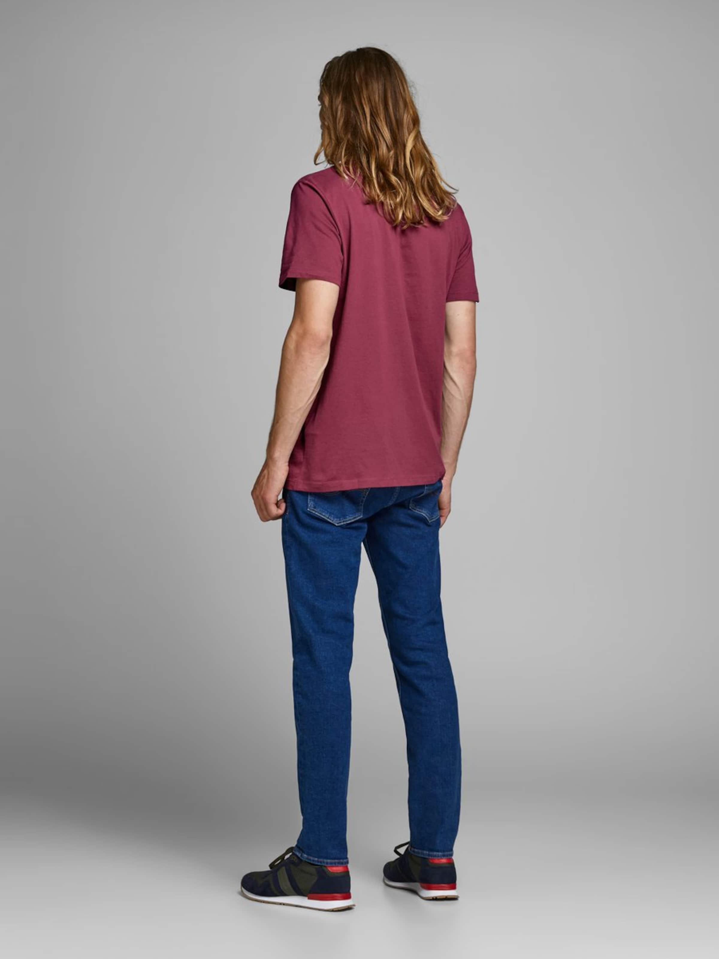 T Jones TurquoiseViolet Jackamp; shirt Rouge En 3F1cTJlK