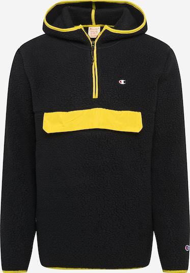 Champion Reverse Weave Pulover | rumena / črna barva, Prikaz izdelka