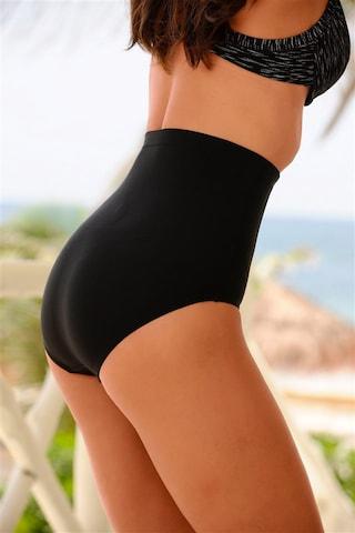 LASCANA Bikinibroek 'Shape' in Zwart