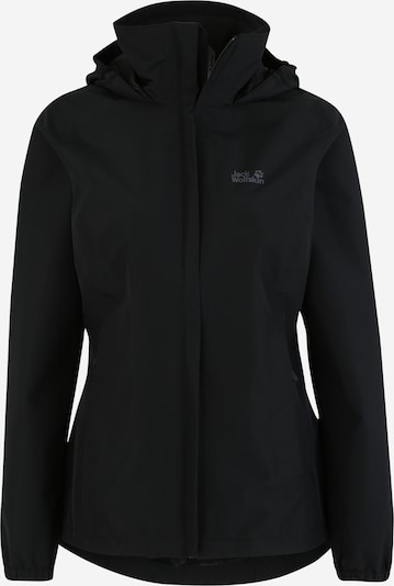 JACK WOLFSKIN Outdoor jacket 'STORMY POINT' in Black, Item view