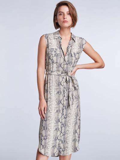 SET Kleid in grau / schwarz, Modelansicht