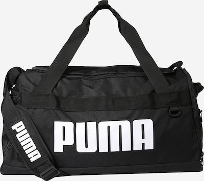 PUMA Sport-Tasche 'Challenger Duffel' in schwarz / weiß, Produktansicht