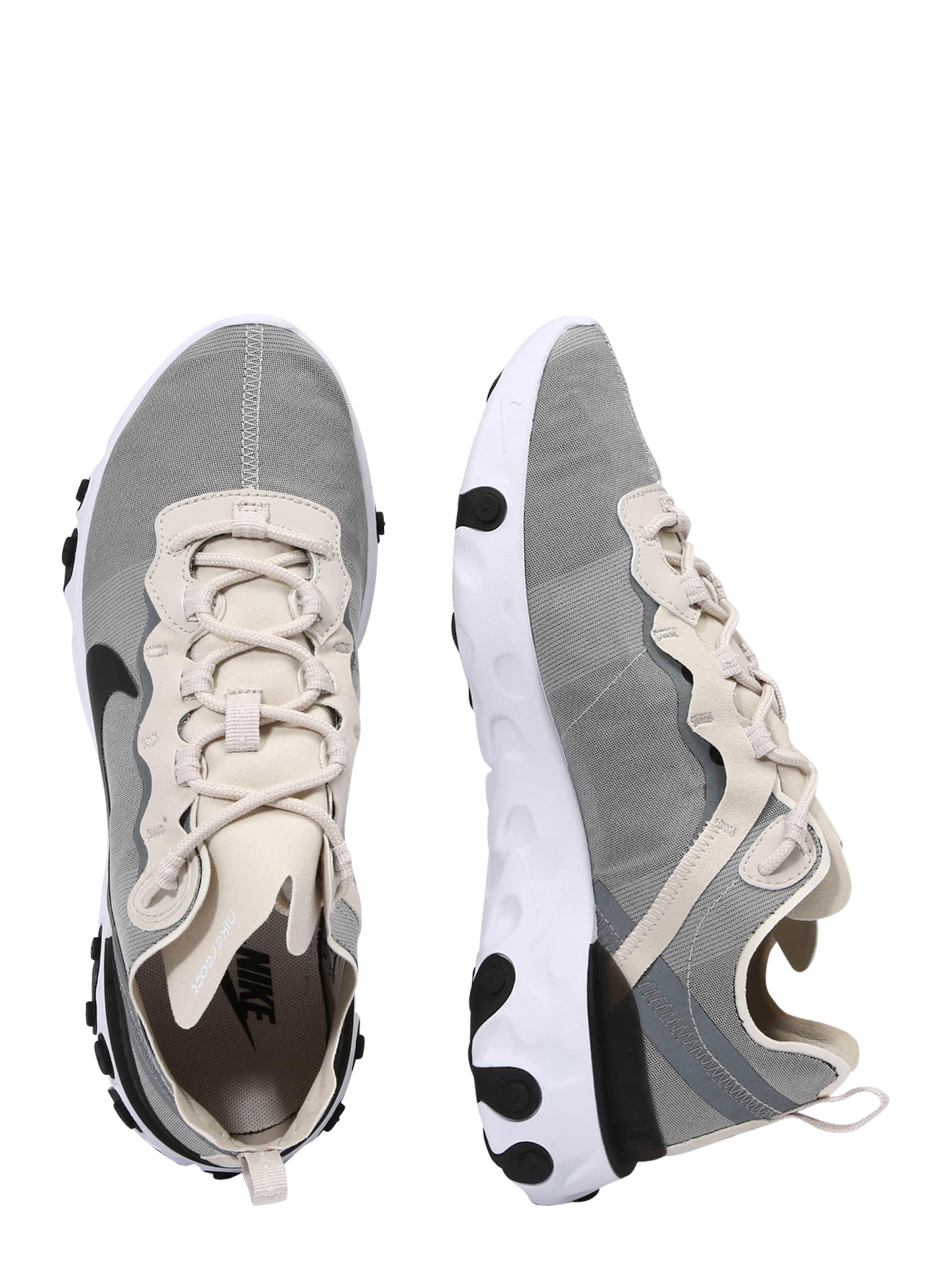 Nike Sportswear Turnschuhe 'NIKE REACT ELEMENT 55 55 55 Textil Wilde Freizeitschuhe 2cc4cf