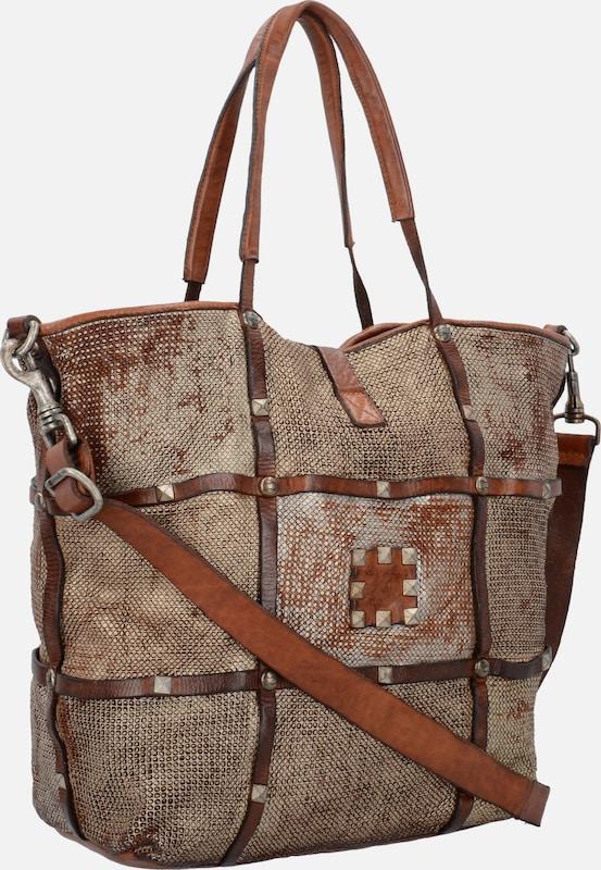 Campomaggi 'Clematide' Shopper Tasche Leder 30 cm