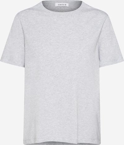 EDITED Shirt 'Leila' in grau / graumeliert, Produktansicht
