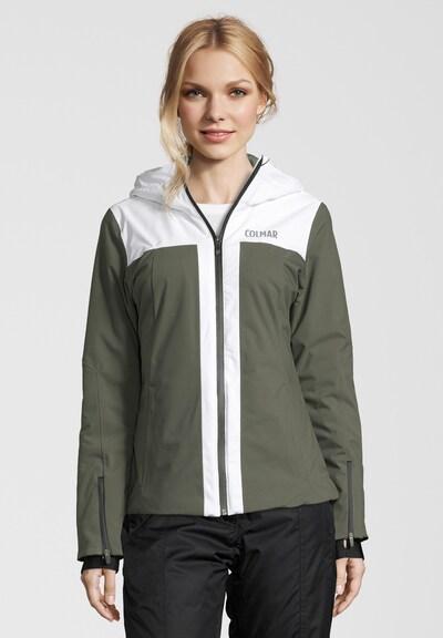 Colmar Skijacke 'SAPPORO' in oliv / weiß, Produktansicht