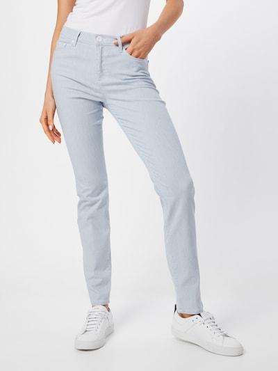 BRAX Jeans 'Shakira' in taubenblau / weiß, Modelansicht