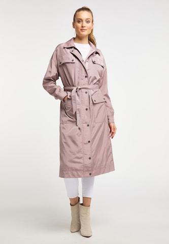 DREIMASTER Between-Seasons Coat in Pink