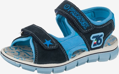 PRIMIGI Sandals & Slippers in Night blue / Light blue, Item view