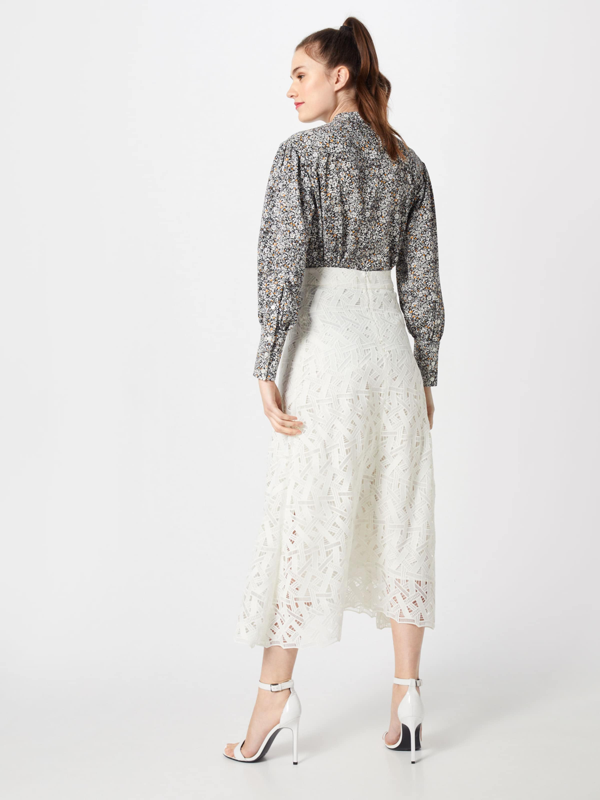 Rock Oak Lace 'midi Ivyamp; Skirt' In Weiß Graphic SpGqzVMU