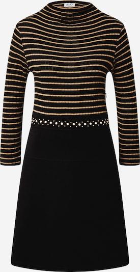 LIU JO JEANS Kleid 'ABITO' in braun / schwarz, Produktansicht
