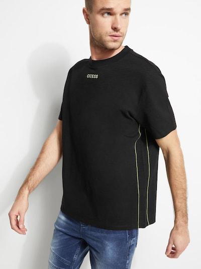 GUESS Guess T-SHIRT MIT LOGO in schwarz: Frontalansicht