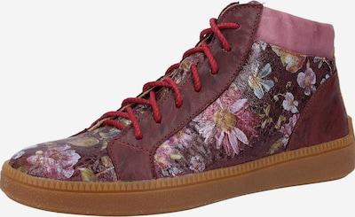 THINK! Sneaker in rosegold / beere / merlot, Produktansicht