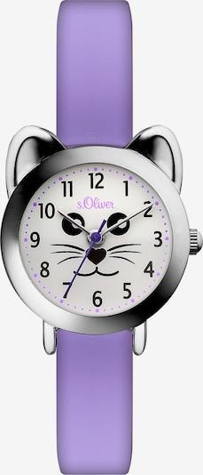 s.Oliver Uhr in helllila, Produktansicht